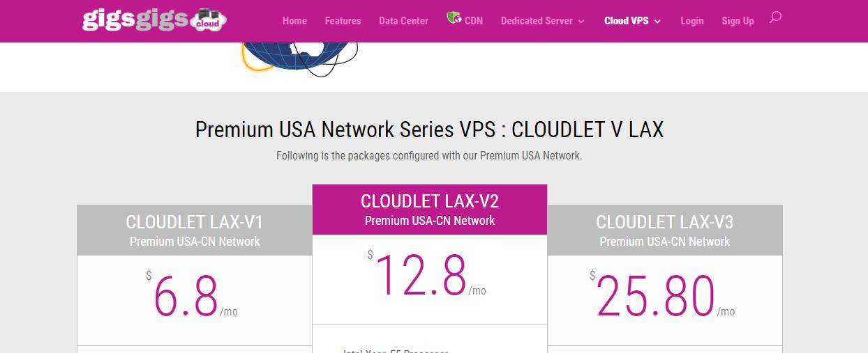 CloudLet V/洛杉矶/$6.8起(2020.01.21涨价到8.8)